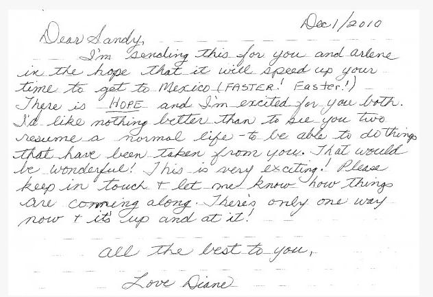 Образец написанного от руки письма другу на английском языке