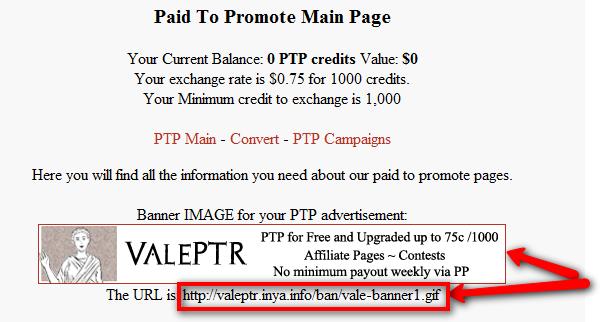 ValertPTR banner